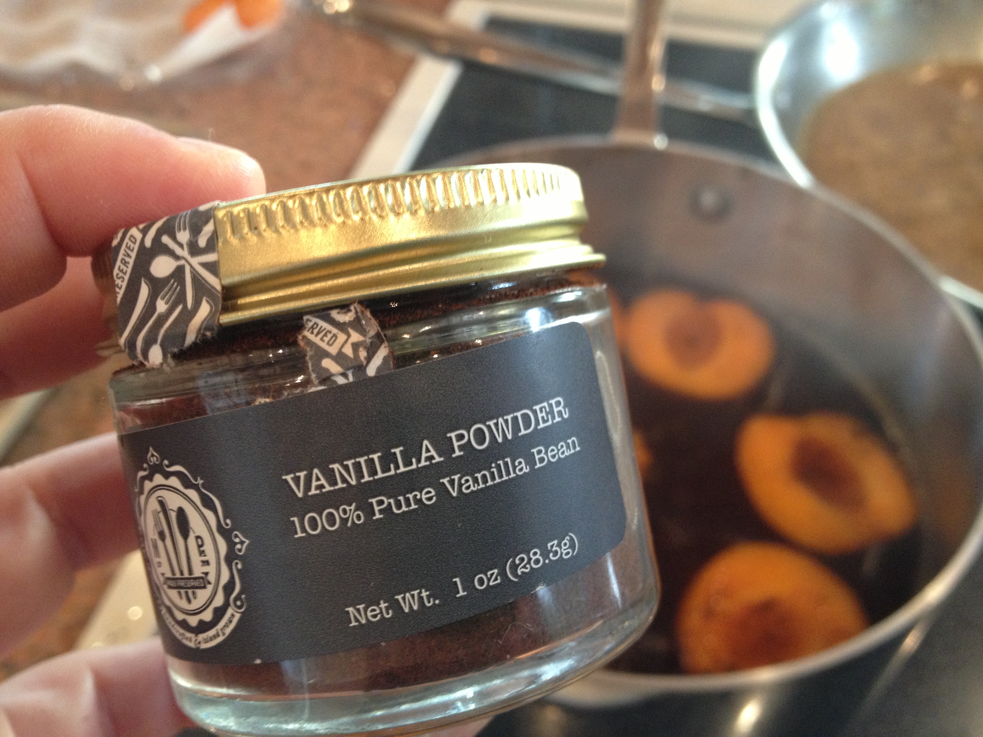 Vanilla-y Greatness in one little jar
