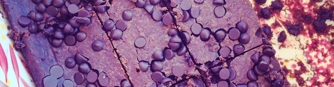 Allergy Free Black Bean Brownies